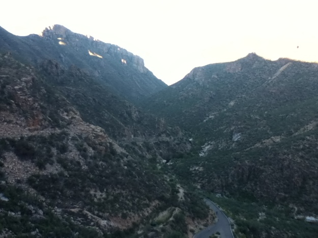 O ultima vedere spre sud a canionului inainte de intoarcere.